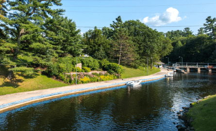 small locks in Port Carling