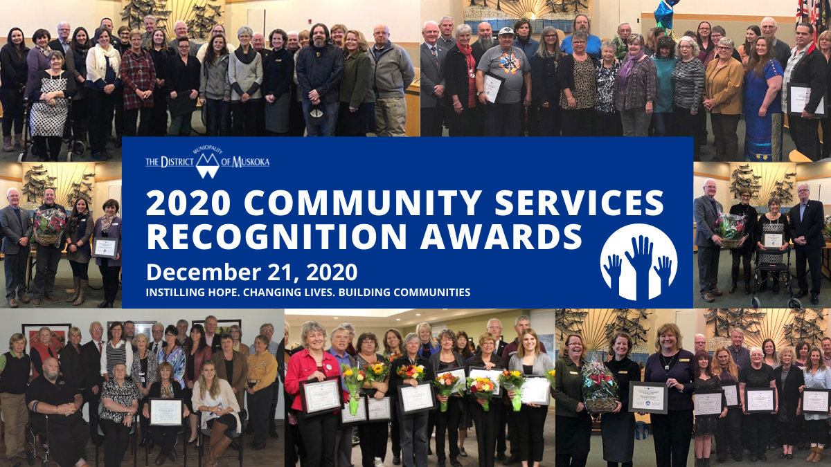 2020 Community Services Recognition Awards
