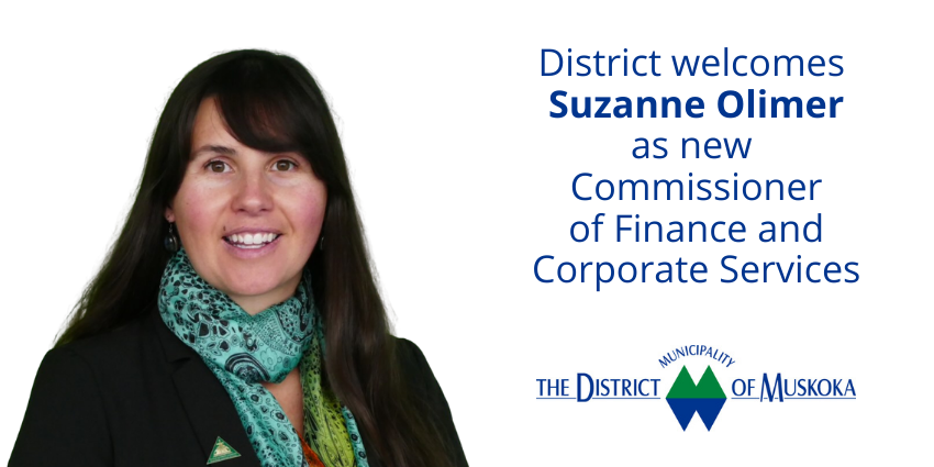 Suzanne Olimer Commissioner of Finance and Corporate Services